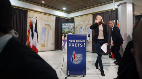 La candidate du FN dans la région du PACA Marion Maréchal-Le Pen