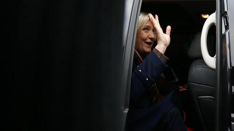 Leader du Front National Marine Le Pen