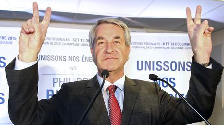 Philippe Richert, candidat des Republicains en Alsace-Lorraine