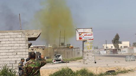 Attaque au chlore en Irak.