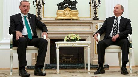 Tayyip Erdogan et Vladimir Poutine