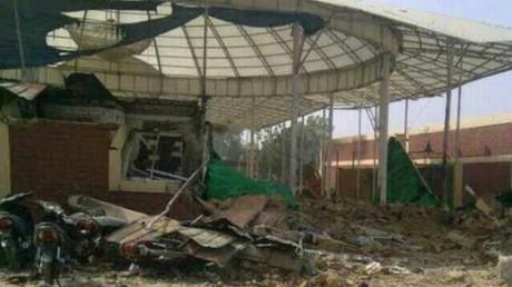 Le quartier général du MIN détruit par l'armée nigérienne