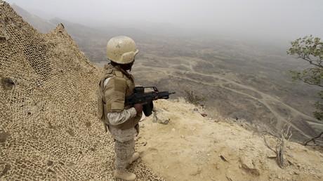 Un soldat saoudien