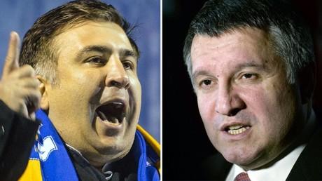 Mikhaïl Saakachvili et Arsène Avakov