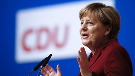 Angela Merkel à Karlsruhe ce lundi