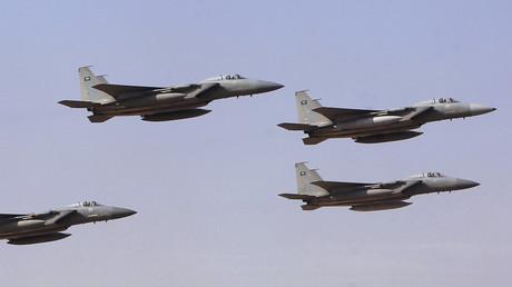 Des avions de combat F16 saoudiens