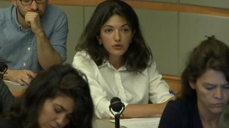 WikiLeaks a appelé les médias féministes à intervenir en faveur de la correspondante de RT