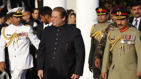 Le Premier ministre pakistanais Nawaz Sharif