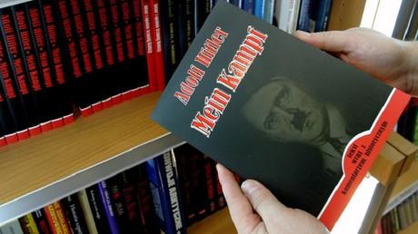'Mein Kampf' dans une librairie en Pologne.
