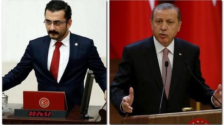 Eren Erdem et Recep Tayyip Erdogan