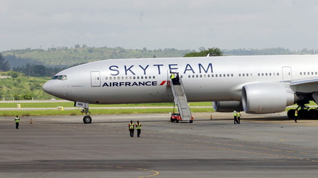 La bombe découverte dans un avion d'Air France en provenance de l'île Maurice était factice