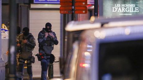 L'opération de la police belge dimanche soir à Bruxelles