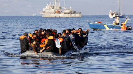 bateau de réfugiés