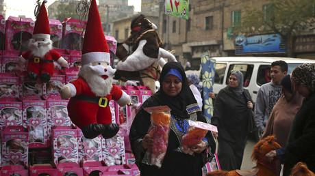 Un marché de Noël au Caire