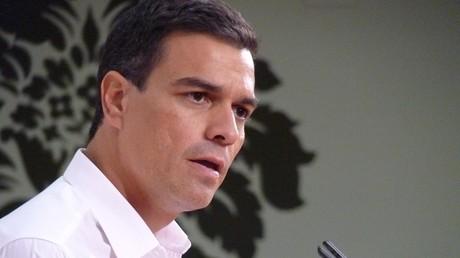 Pedro Sanchez, le secrétaire général du parti socialiste ouvrier espagnol.