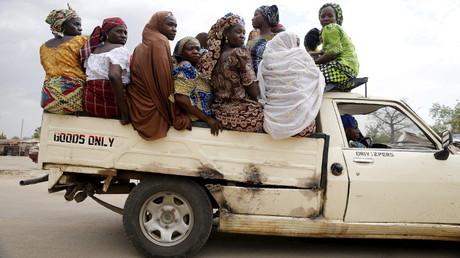 Des femmes nigérianes.