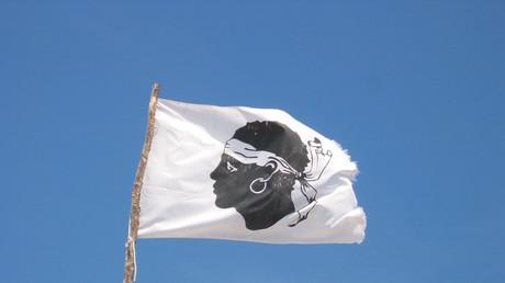 Le drapeau de la Corse