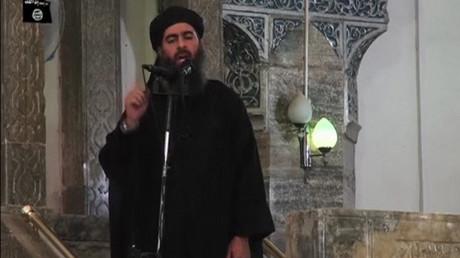 Abu Bakr al-Baghdadi en juillet 2014