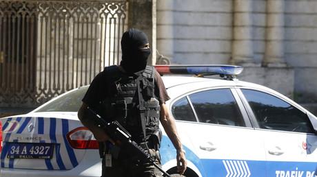 Un membre des forces spéciales turques