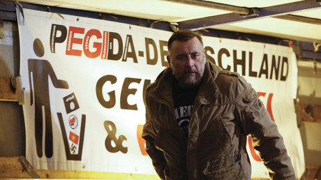 Leader du groupe Pegida