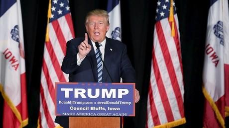 Le candidat républicain est un habitué des déclarations enflammées