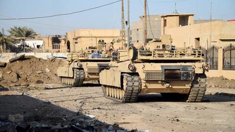 Tanks à Ramadi