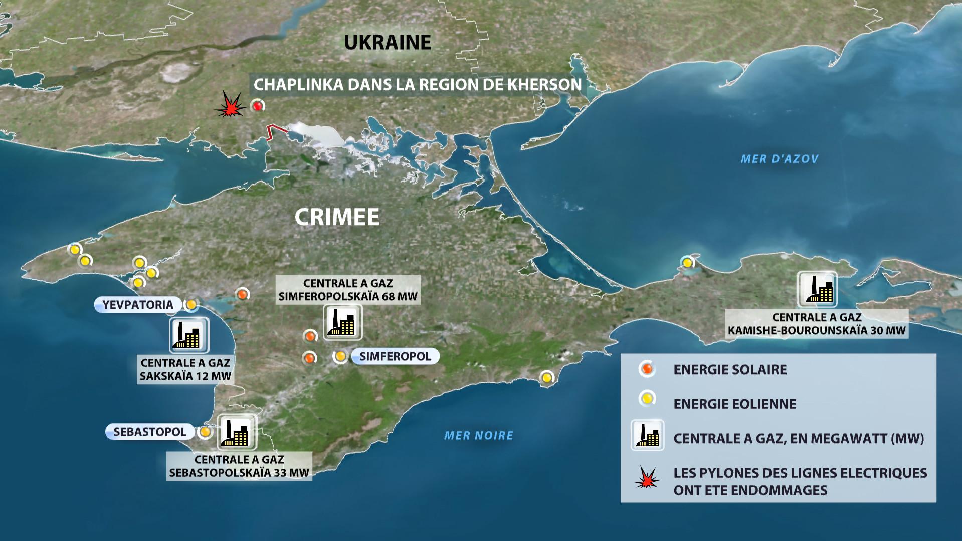 La Crimée se prononce contre les livraisons d'électricité ukrainienne
