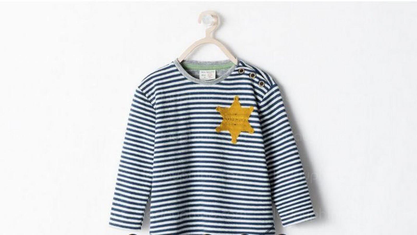 Le modèle pour enfant controversé, mis en vente par Zara en 2014