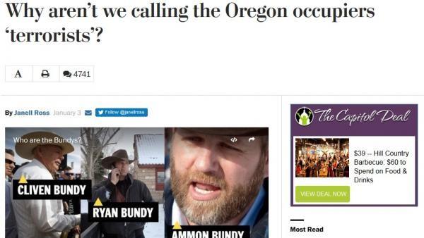 """Le Washington Post évoque maintenant des """"terroristes"""""""