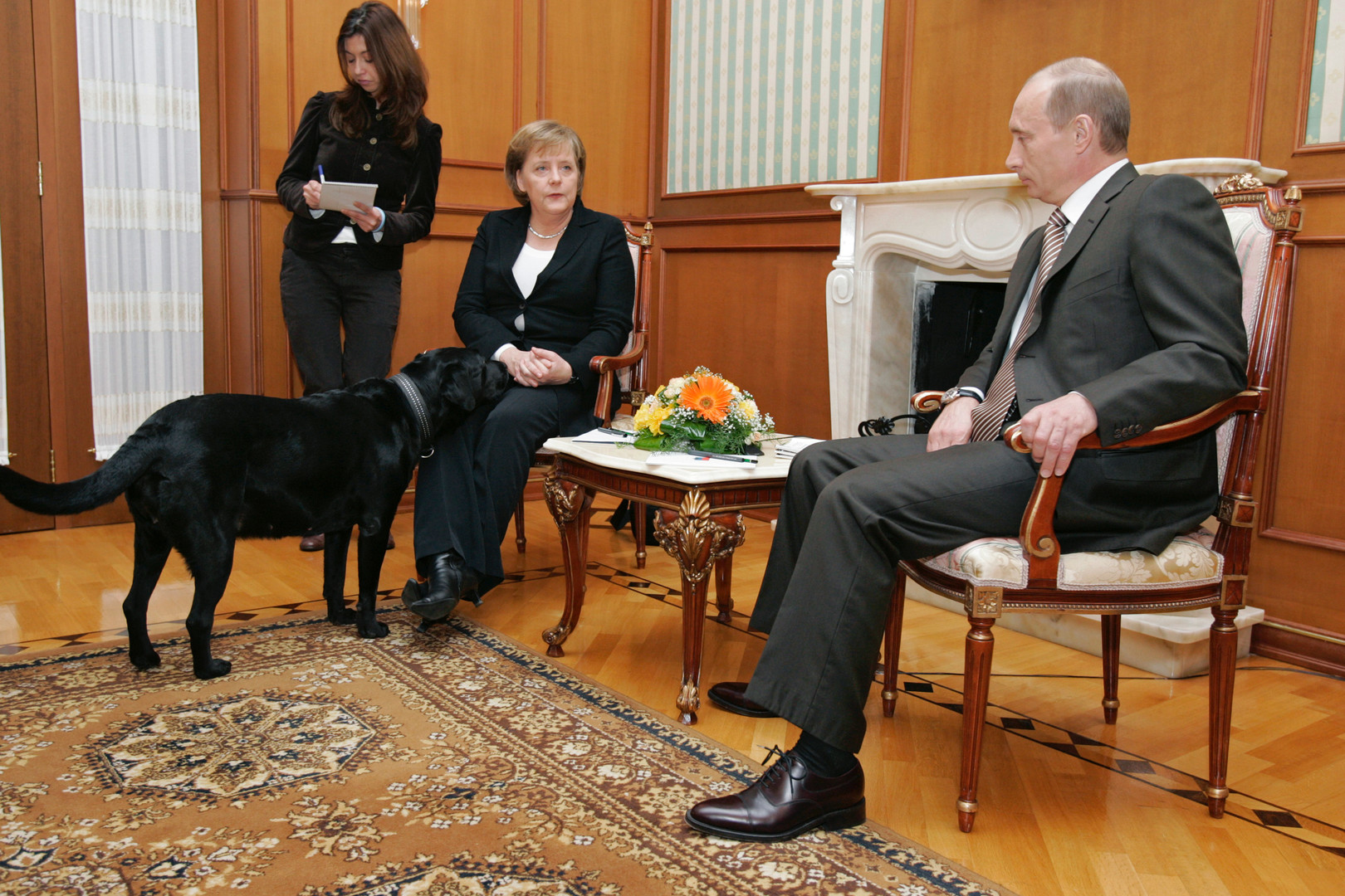 Poutine évoque l'aide occidentale aux terroristes, l'avenir de l'économie et la phobie de Merkel