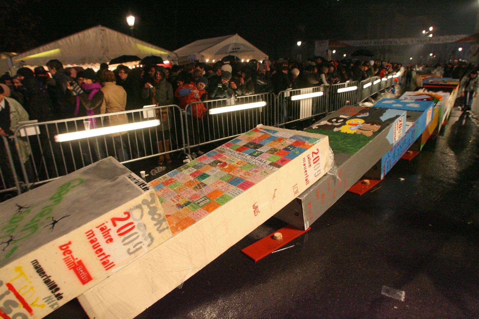 Le 20 anniversaire de la chute du mur de Berlin