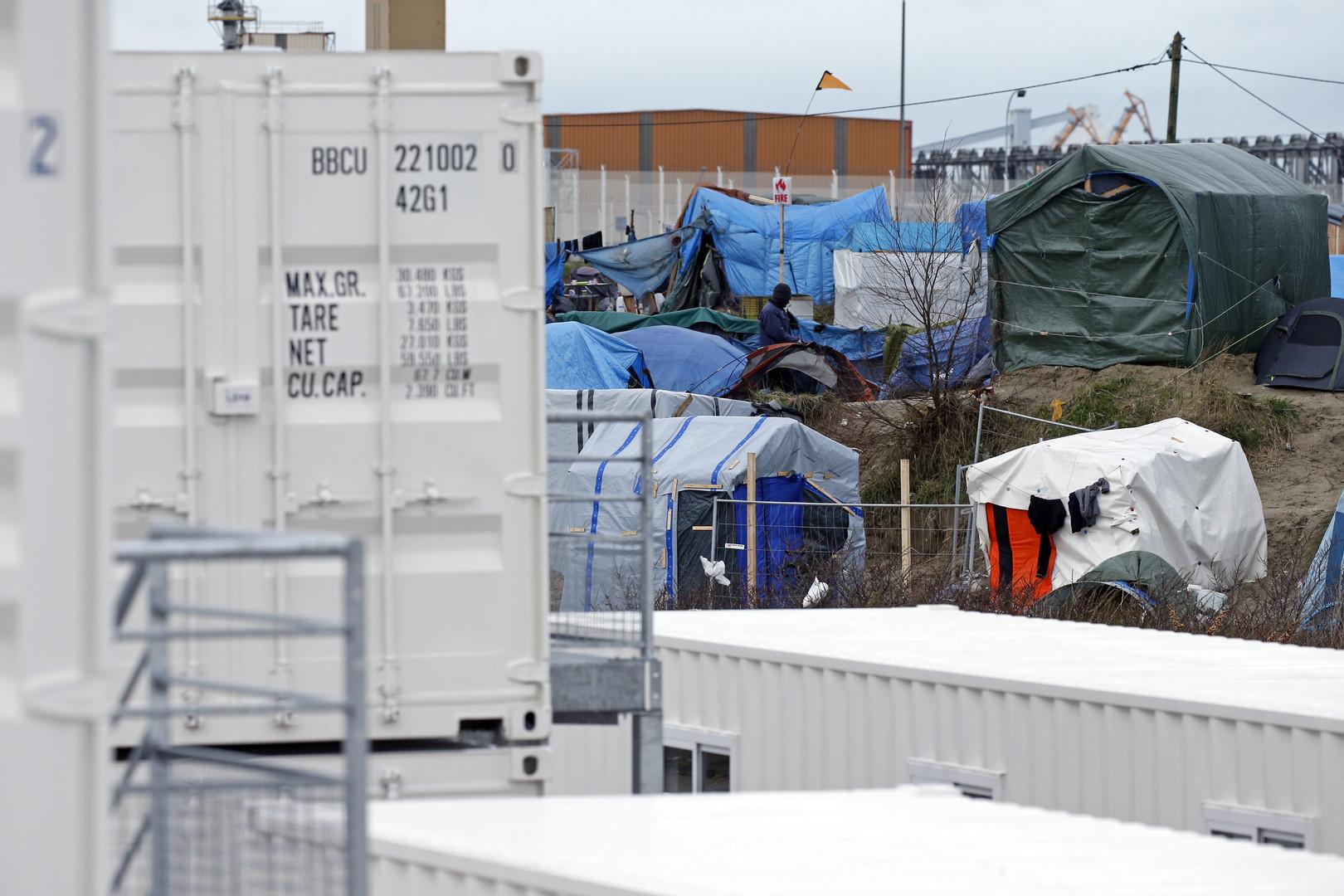 Le nouveau camp de Calais