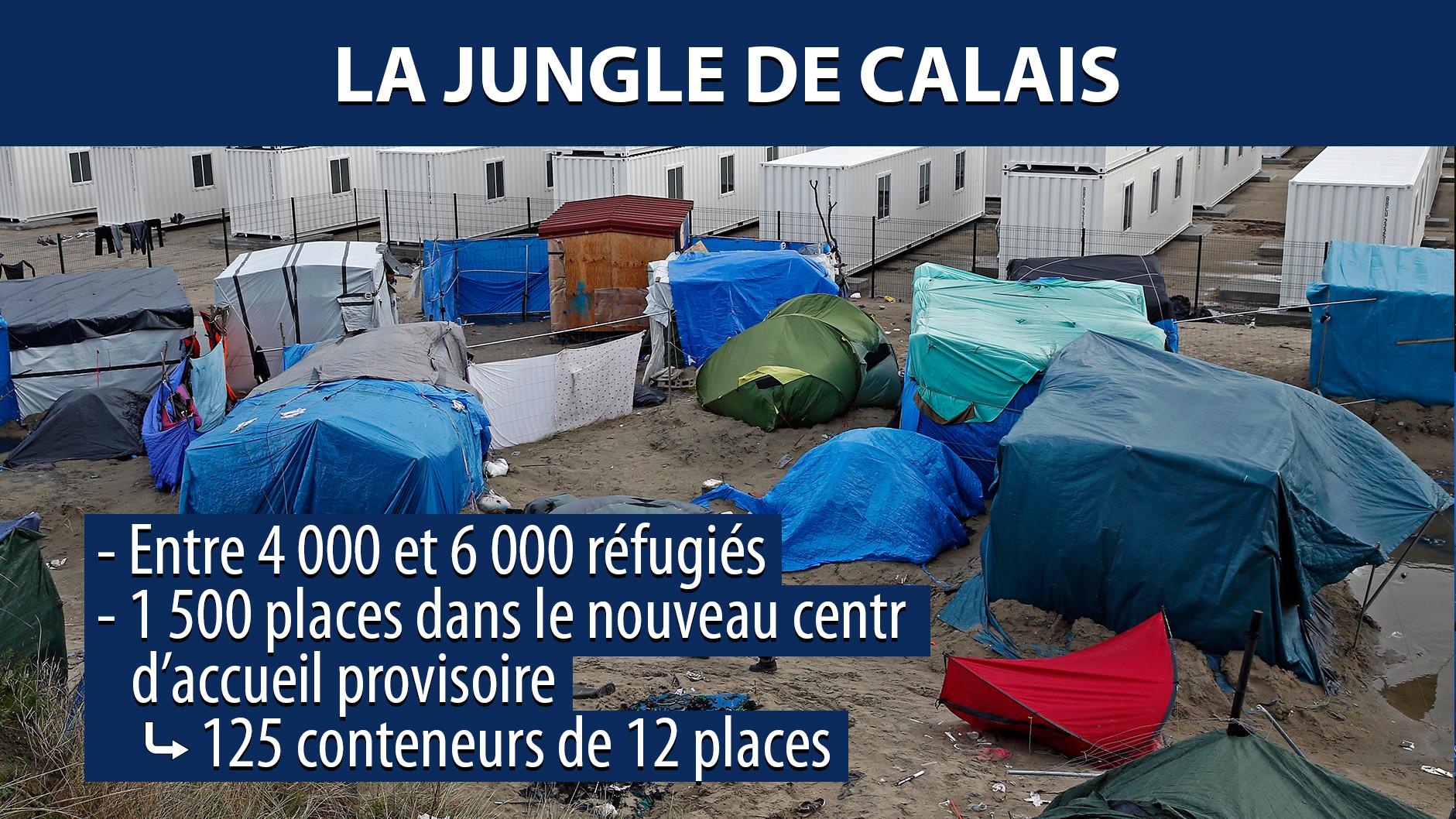 Calais : les autorités vont détruire les tentes de fortune des migrants