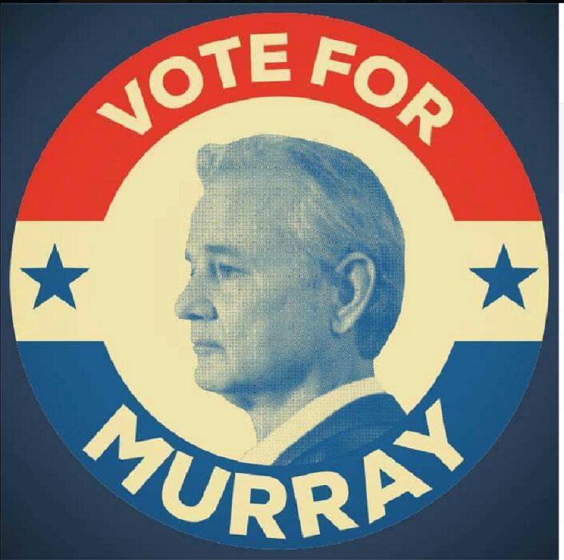 L'acteur Bill Murray annonce qu'il sera candidat à la présidence des Etats-Unis en 2016