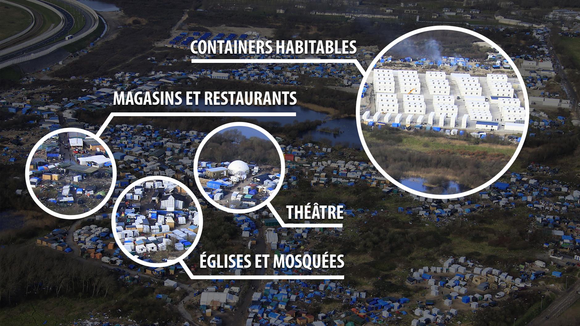 L'assainissement de la Jungle de Calais a commencé mais ne se fera ...