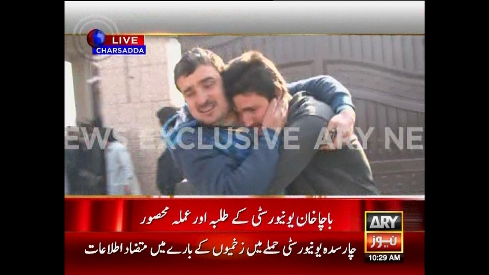 Deux hommes sont évacués du campus de l'université