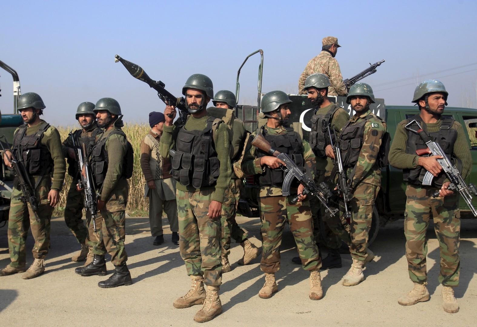 Les soldats pakistanais mobilisés lors de l'attaque