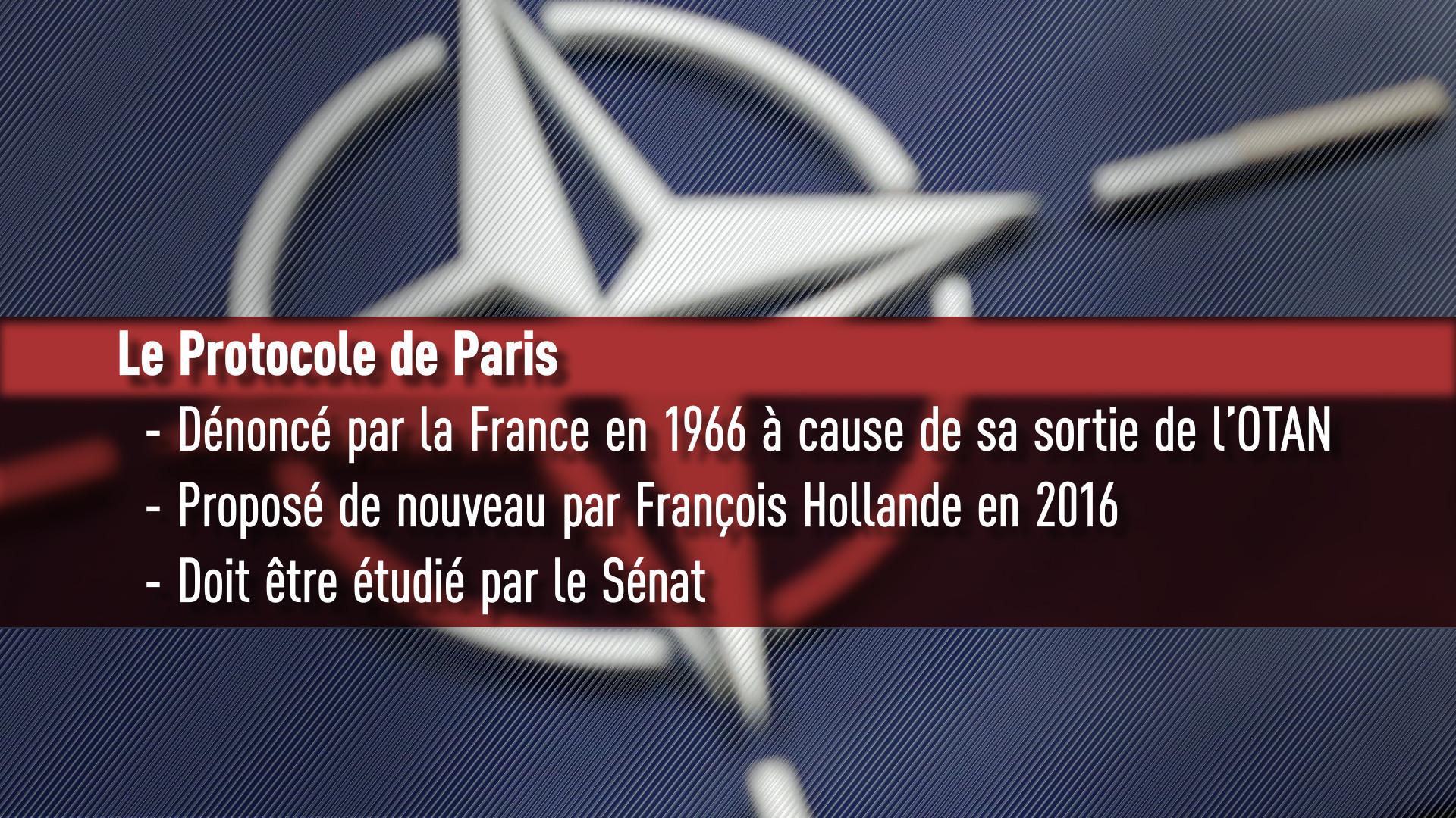 Rétablissement du protocole de Paris de l'OTAN par François Hollande : quels enjeux ?