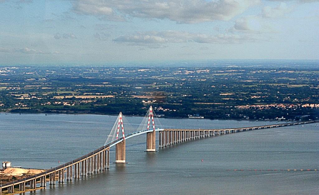 Pont de Saint Nazaire en Loire-Atlantique