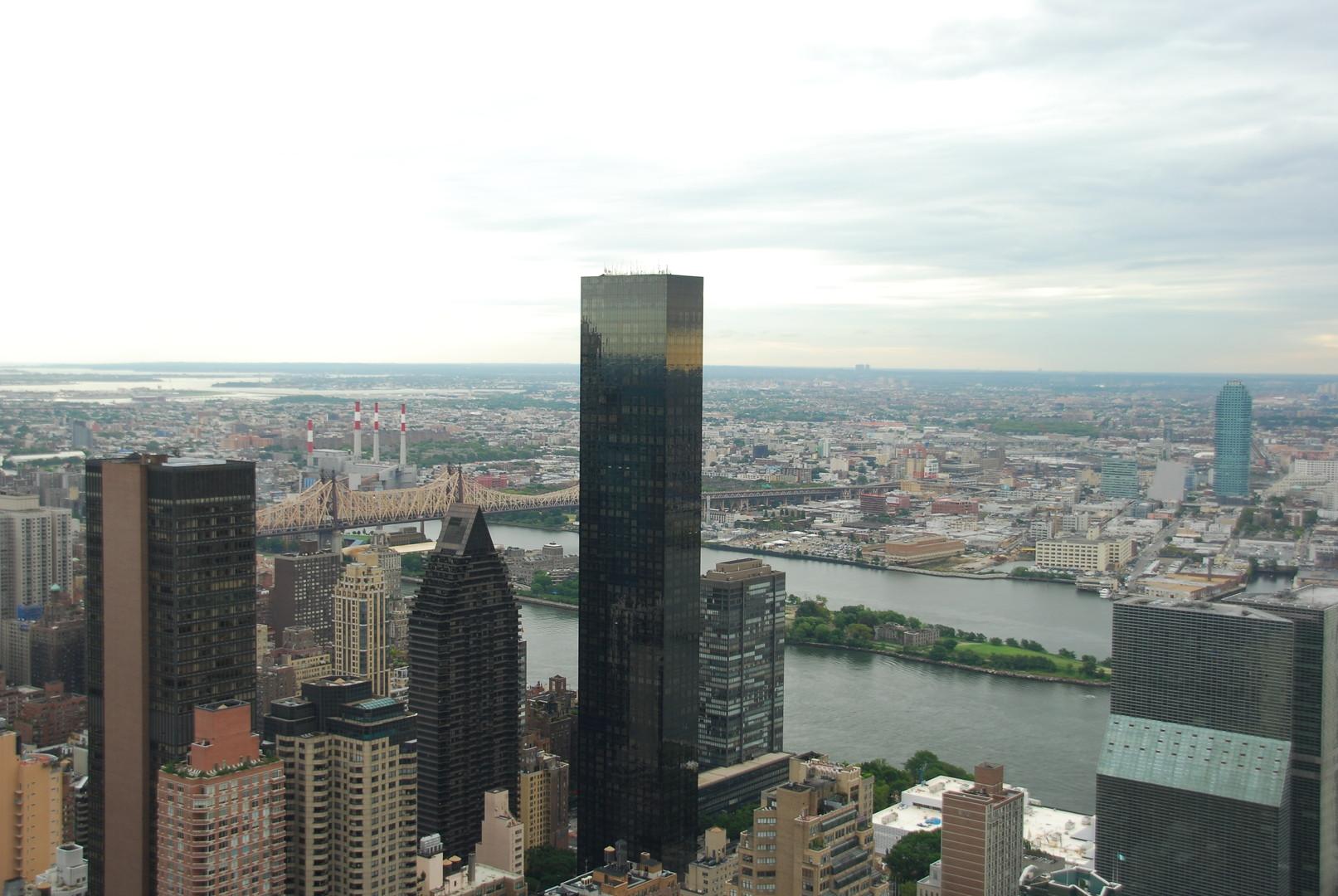 La Trump World Tower. Un des plus grands ensembles habitables au monde.