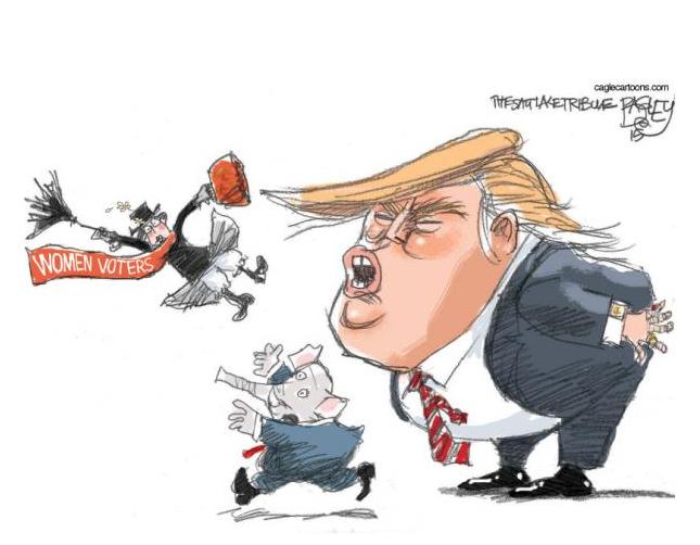 """Le Trump """"sexiste"""""""