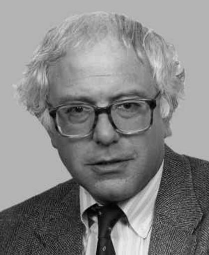Bernie Sanders en 1991, année lors de laquelle il obtient sa place au Congrès.