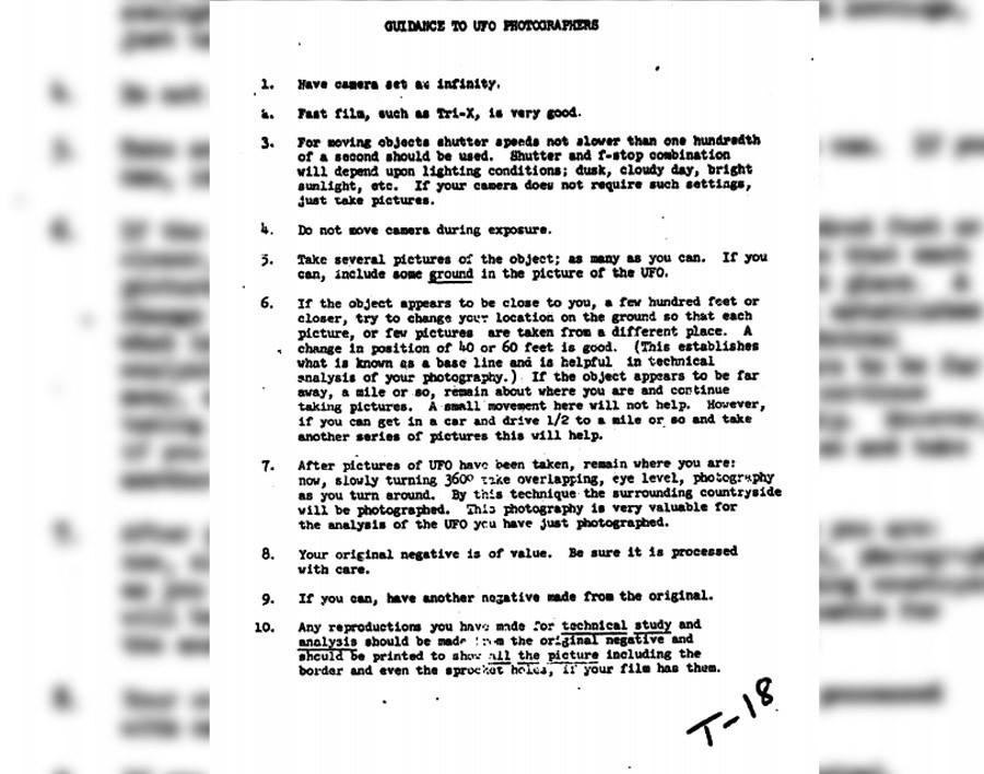 La CIA déclassifie des documents sur les extraterrestres et les soucoupes volantes «pour Fox Mulder»