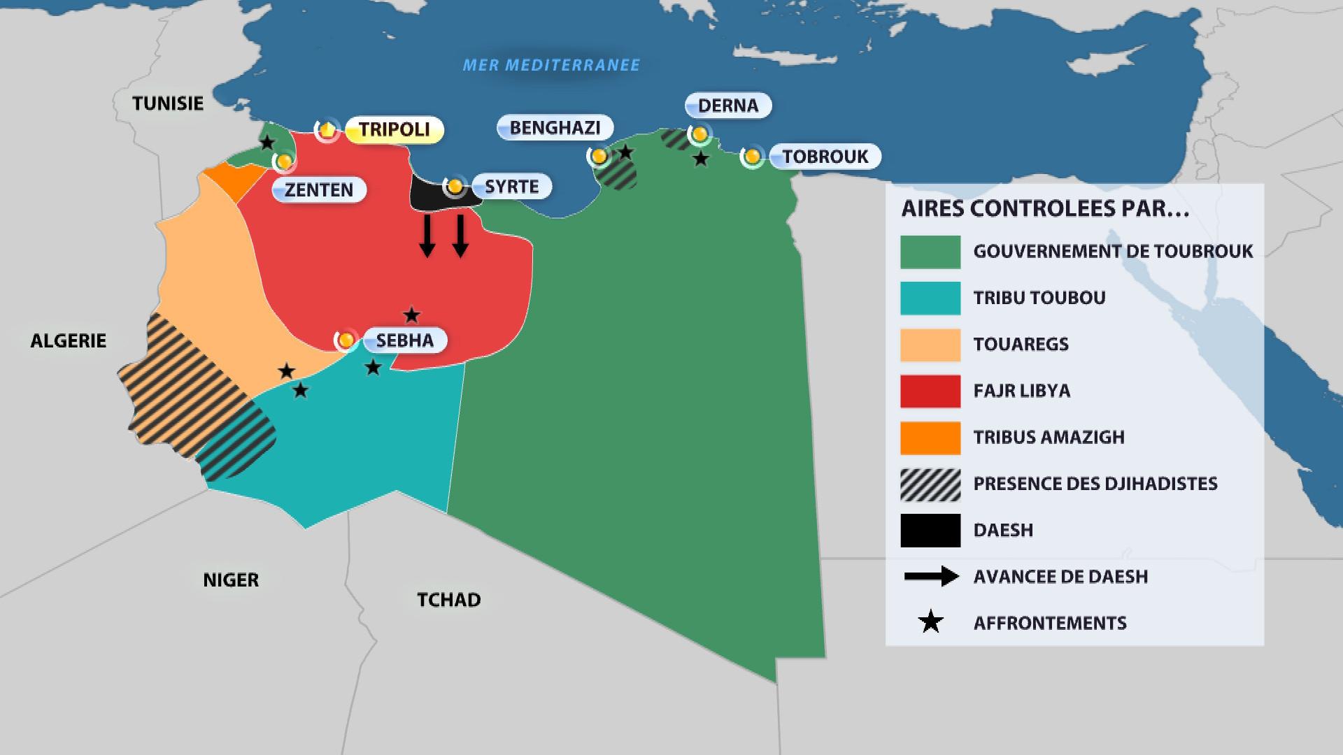 Confusion totale : les Etats-Unis incertains de vouloir attaquer Daesh en Libye