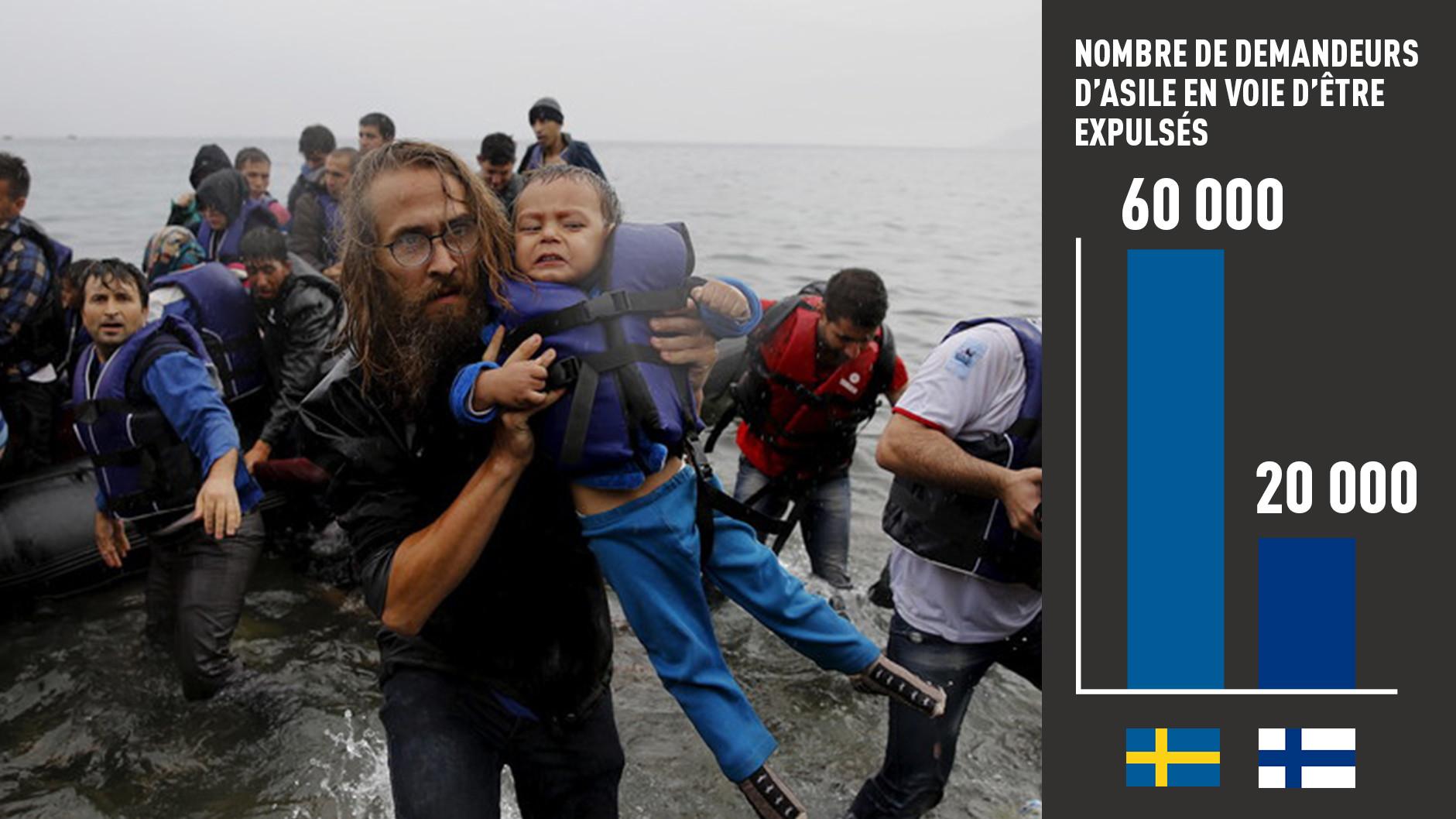 Incidents liés aux réfugiés : le Premier ministre suédois accusé de mauvaise gestion de la crise
