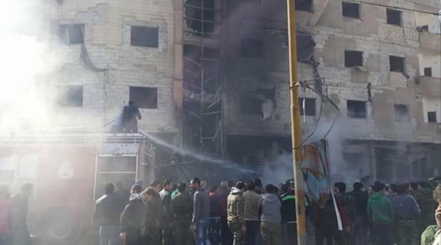 Syrie : 60 morts dans des explosions près de Damas revendiquées par Daesh (PHOTOS, VIDEO)