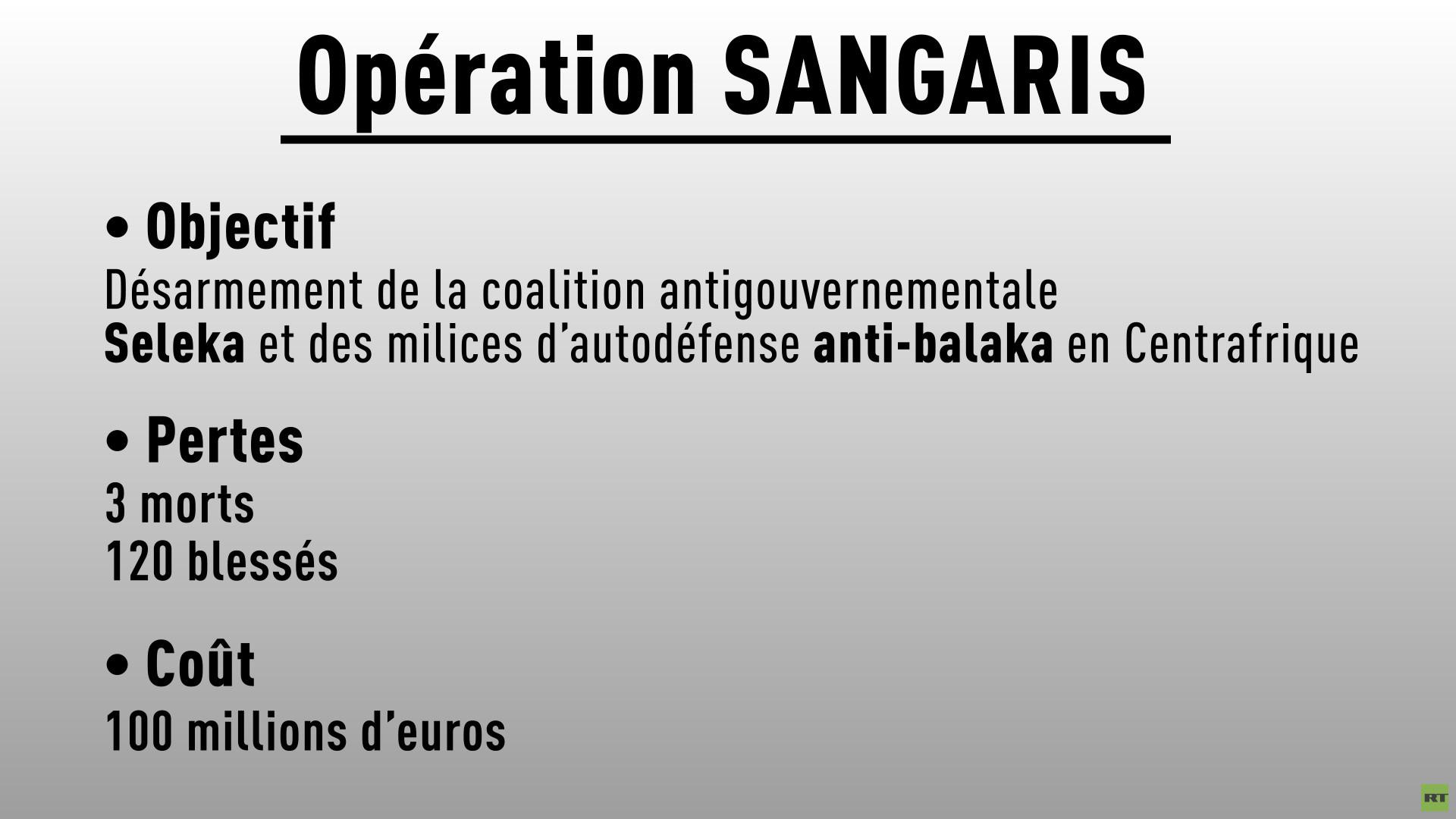 Centrafrique : la France veut mettre fin à son opération Sangaris en 2016
