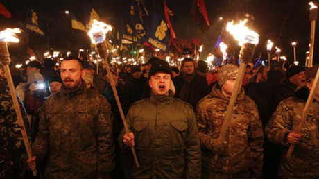 Des milliers de partisans du collaborateur nazi Stepan Bandera rassemblés à Kiev et Odessa (PHOTOS)