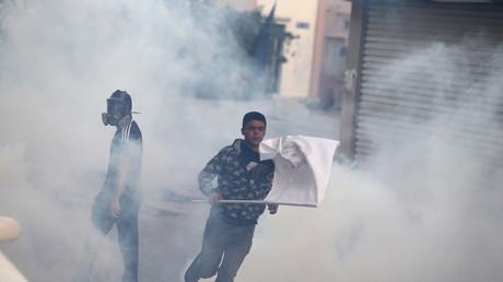 Bahreïn : des gaz lacrymogènes contre des manifestants contestant les exécutions saoudiennes