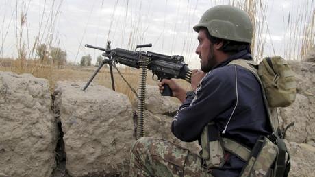 Un soldat afghan dans la province d'Helmand